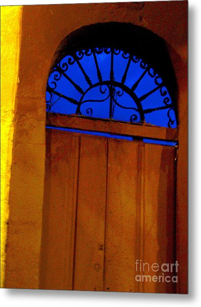 Blue Twilight By Michael Fitzpatrick Metal Print by Mexicolors Art Photography