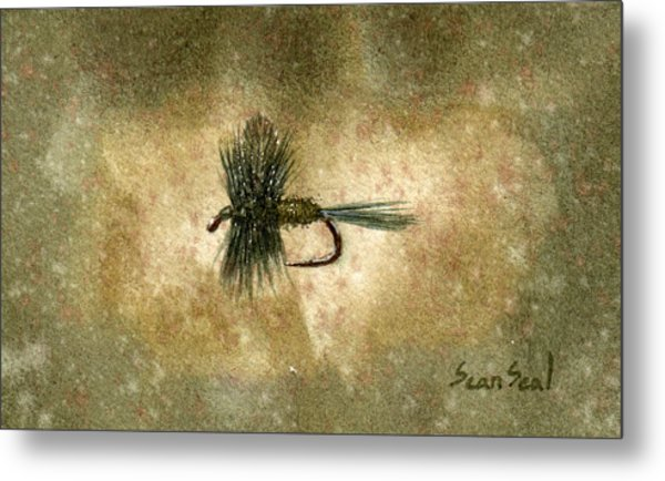 Blue Winged Olive Metal Print