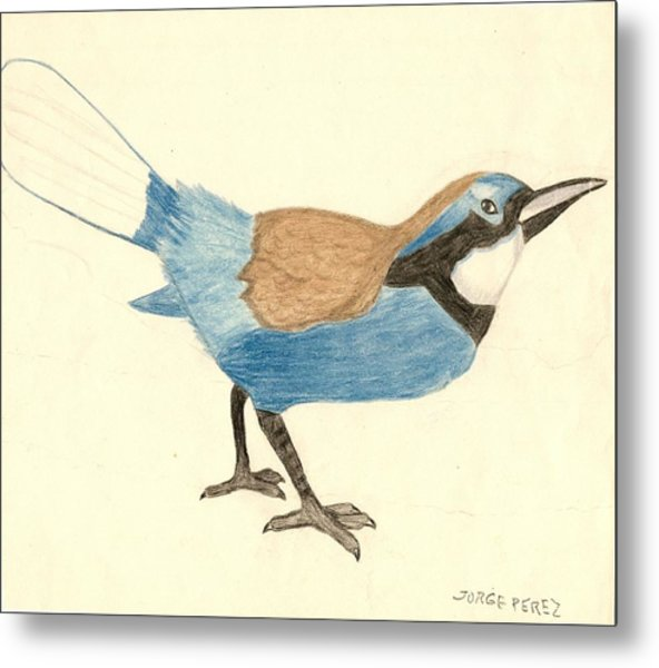 Bluebird Metal Print by George I Perez