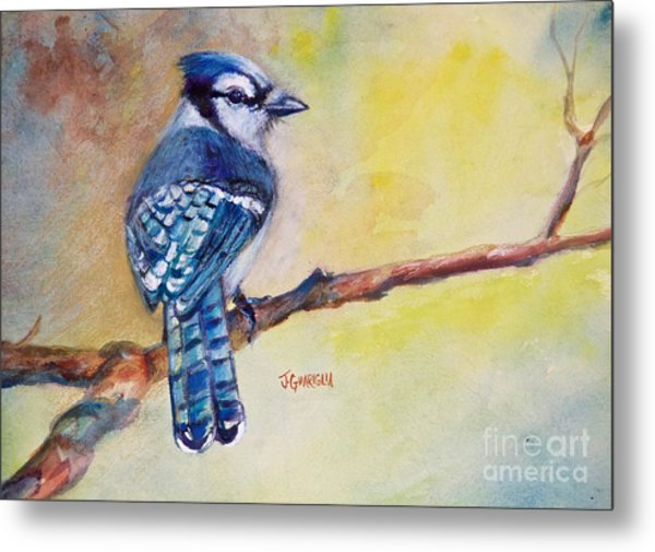 Bluebird Metal Print by Joyce A Guariglia