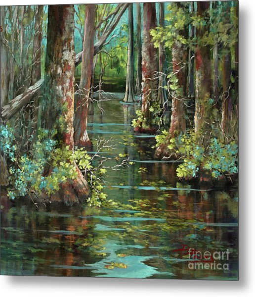 Bluebonnet Swamp Metal Print