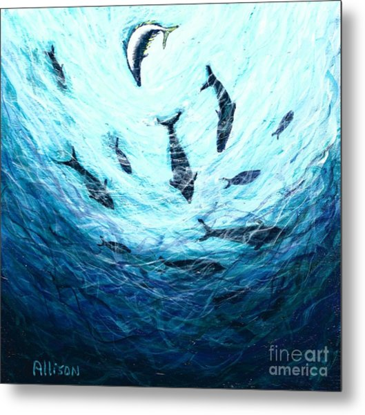 Bluefin Tuna Metal Print