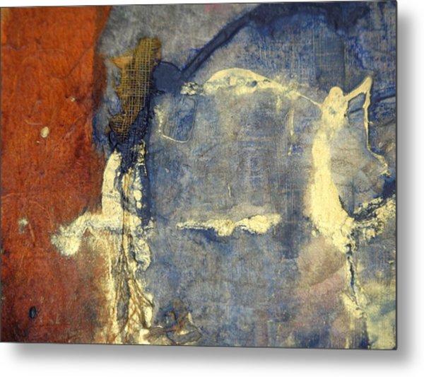 Bluegold 3 Metal Print