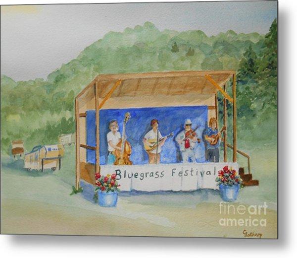 Bluegrass Festival Metal Print