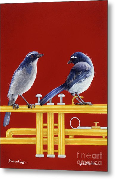 blues and Jazz... Metal Print