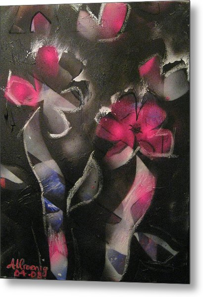 Blumen Aus Berlin Metal Print by Andrea Noel Kroenig