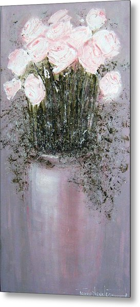 Blush - Original Artwork Metal Print