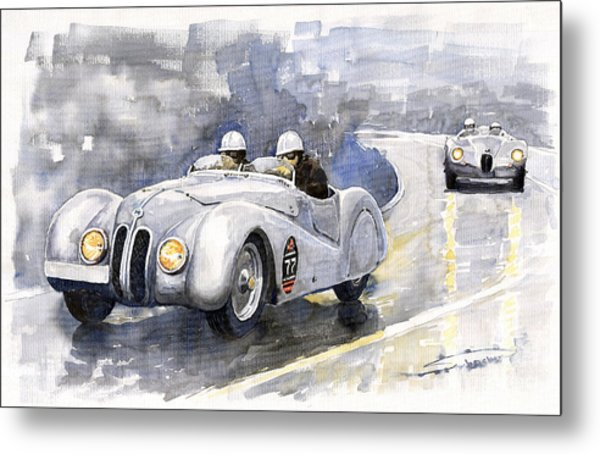 Bmw 328 Roadster Metal Print