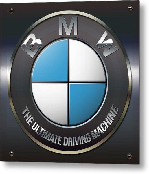 Bmw Logo Metal Print