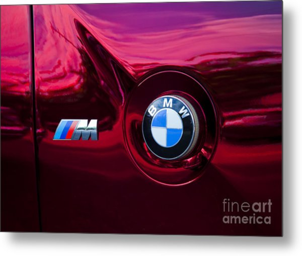 Bmw M3 Badges Metal Print
