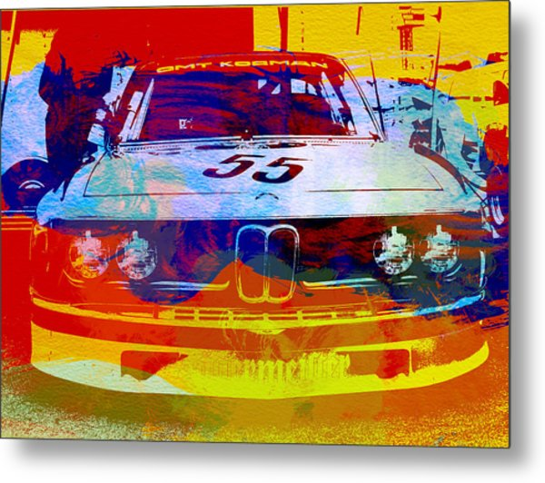 Bmw Racing Metal Print