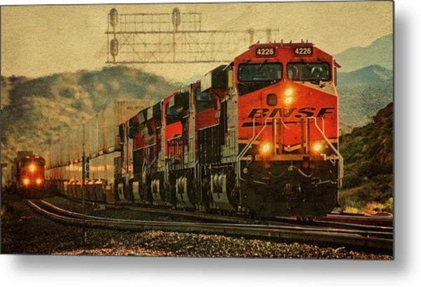 Bnsf Ground Shaker Metal Print