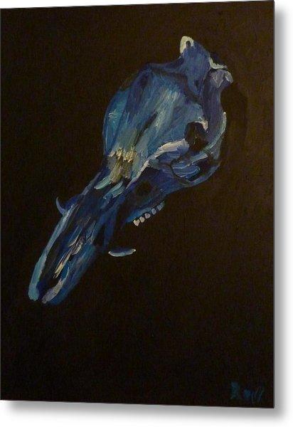 Boar's Skull No. 2 Metal Print