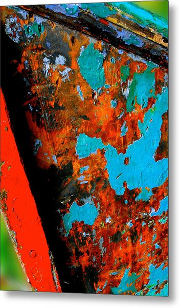 Boat Abstract Metal Print by Craig Perry-Ollila