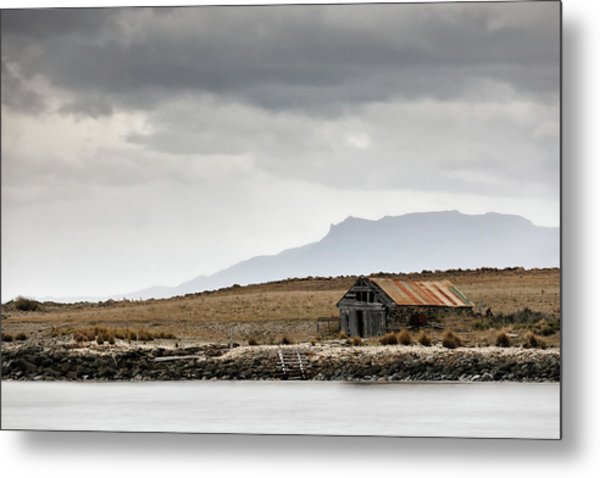 Metal Print featuring the photograph Boat House by Nicholas Blackwell