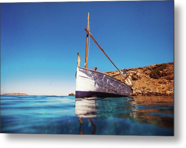 Boat II Metal Print