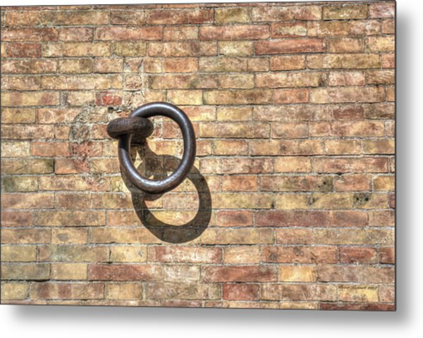 Boat Ring Metal Print