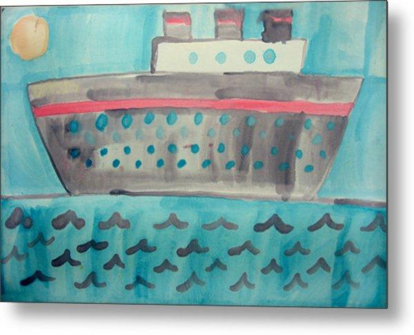 Boat Metal Print by Sean Cusack