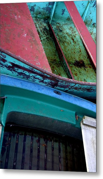 Boated Metal Print by Jez C Self