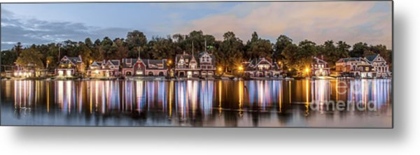 Boathouse Row Lftc Metal Print