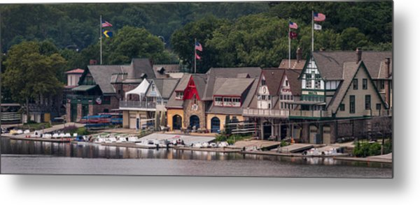 Boathouse Row Philadelphia Pa  Metal Print