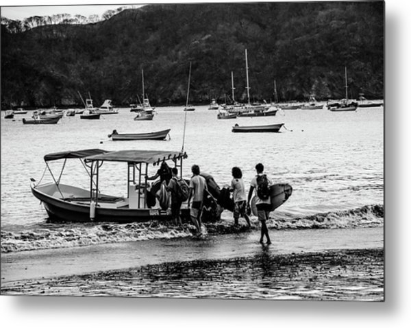 Boats And Boards  Metal Print