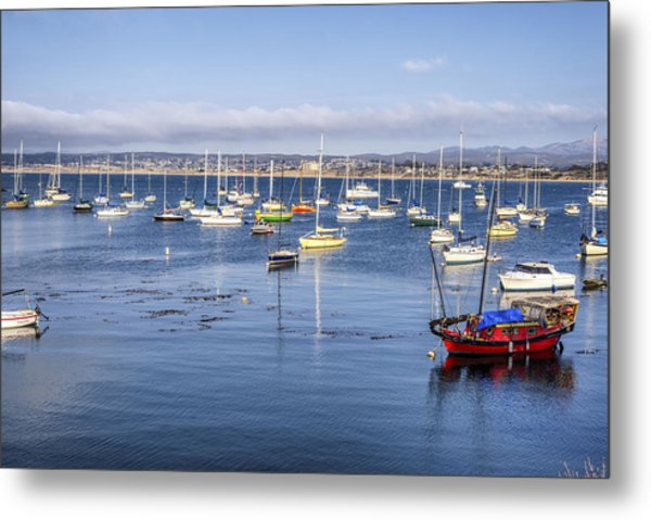 Colorful Monterey Bay Metal Print