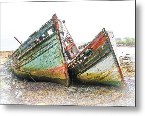 Boats Isle Of Mull 4 Metal Print