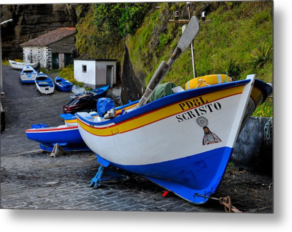 Boats,fishing-19 Metal Print