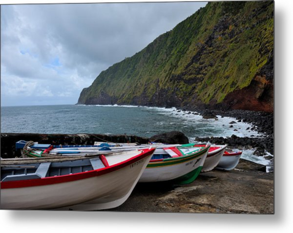 Boats,fishing-23 Metal Print