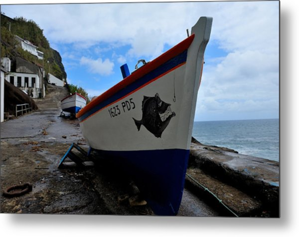 Boats,fishing-26 Metal Print