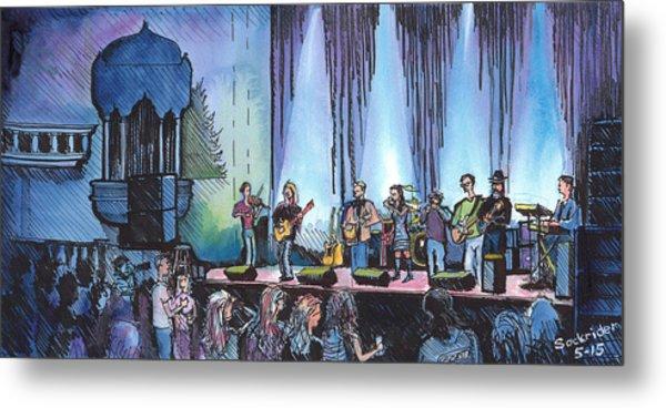 Bob Dylan Tribute Show Metal Print