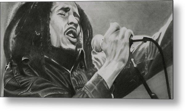Bob Marley Metal Print by Don Medina