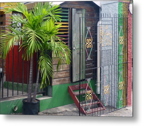 Bob Marley's Home In Kingston Metal Print