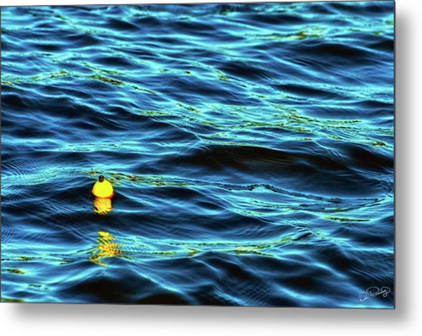 Metal Print featuring the photograph Bobbing Bobber by Dee Browning