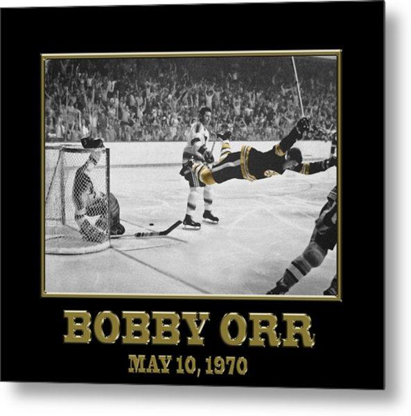 Bobby Orr 6 Metal Print