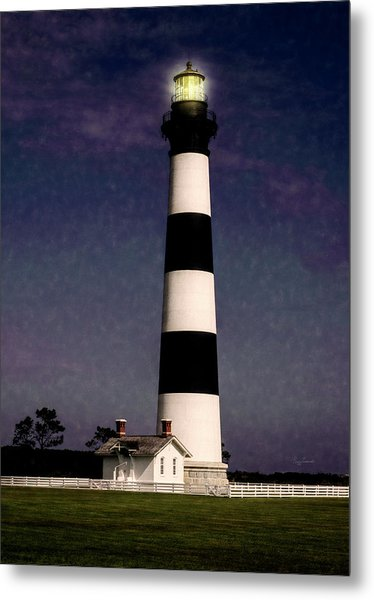 Metal Print featuring the photograph Bodie Island Light Station by Penny Lisowski