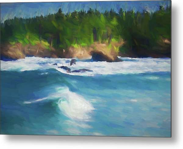 Boiler Bay Blues Metal Print