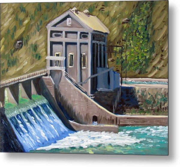 Boise Diversion Dam Metal Print