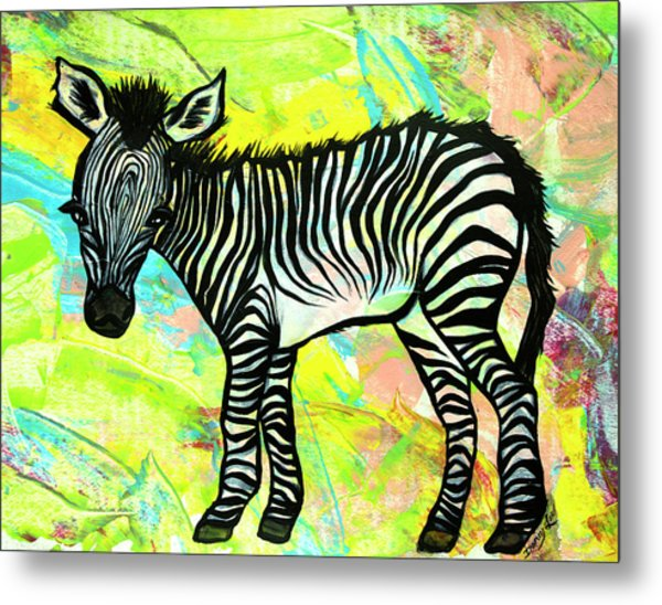 Bold And Bright Metal Print
