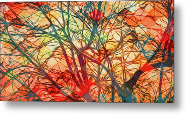 Bold And Colorful Metal Print