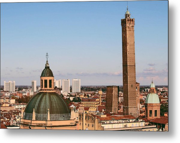 Metal Print featuring the photograph Bologna by Martina Uras