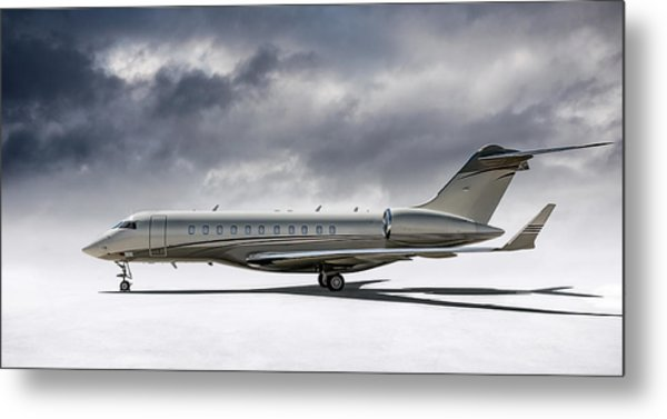 Bombardier Global 5000 Metal Print