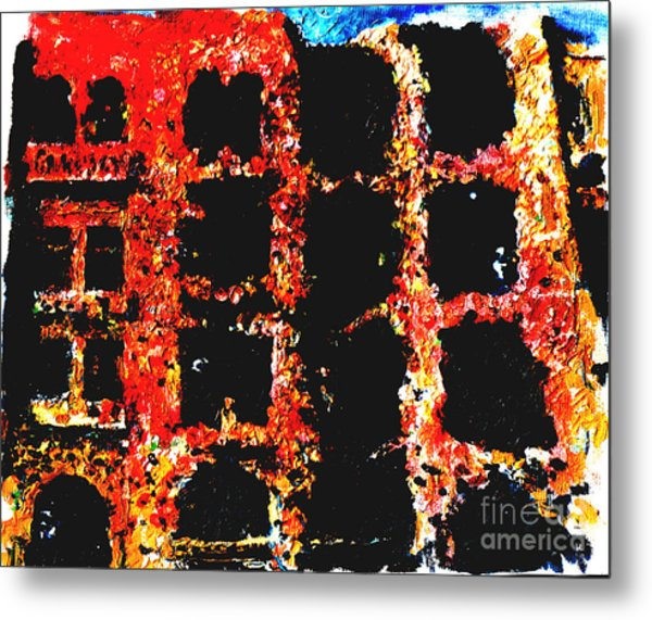 Bombed Out  Metal Print by Andy  Mercer