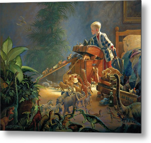 Metal Print featuring the painting Bon Voyage by Greg Olsen