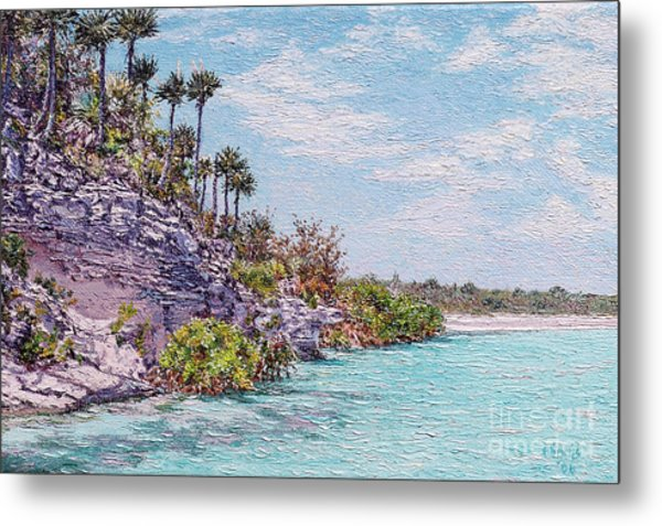Bonefish Creek Metal Print