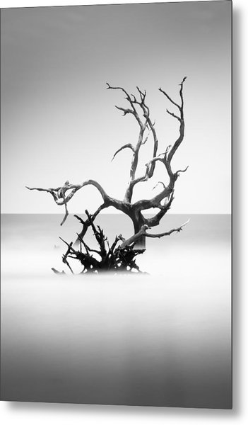 Boneyard Beach X Metal Print