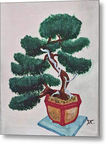 Bonsai #3 Metal Print