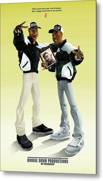 Boogie Down Productions Metal Print