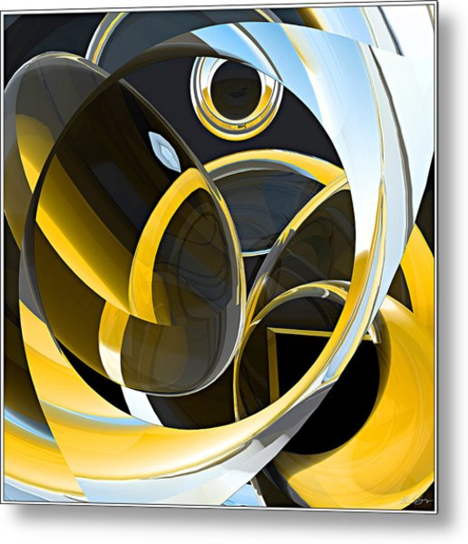 Boolean Refractions Metal Print by Peter J Sucy